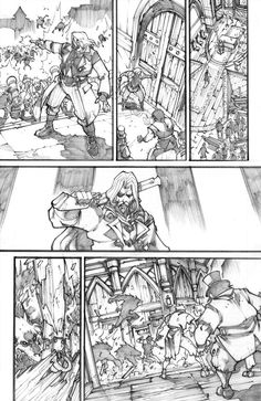 WoW Curse of the Worgen 4 pg24 by LudoLullabi.deviantart.com on @deviantART