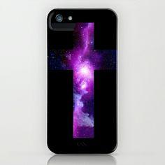 Galaxy Cross iPhone & iPod Case by Nestor2 - $35.00