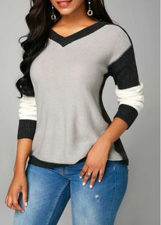 Stylish Tops For Girls, Trendy Tops, Trendy Fashion Tops, Trendy Tops For Women Cardigan Sweaters For Women, Long Sleeve Sweater, Trendy Tops For Women, Casual Outfits, Fashion Outfits, Sleeves, Clothes Sale, Tops Online, Sweatpants Outfit