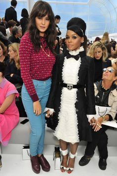 Chanel Paris Fashion Week Front Row