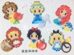 Disney Princess perler beads