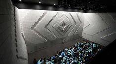 Pulsating Theater Walls.   Hyper-Matrix by Jonpasang