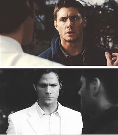 """[SET OF GIFS] """"It had to be your brother.  It had to be.""""  5x04 The End"""