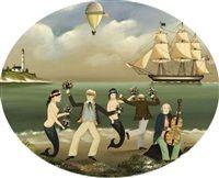 Sailors shore leave von Ralph Eugene Cahoon Jr.