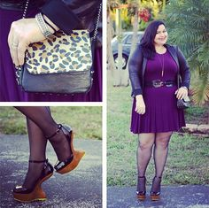 Kirstin Marie wearing a Deb Shops #purse and #shoes!