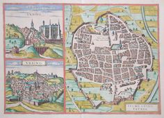 1627 Urbino Italy Antique Map Maps That Make My Heart Sing