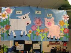 Mrs. Jump's Class:  Fun on the Farm Math and Literacy!