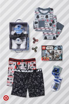 From fidget spinners to a R2D2 gift set, the Force will be fun for your Star Wars fan.