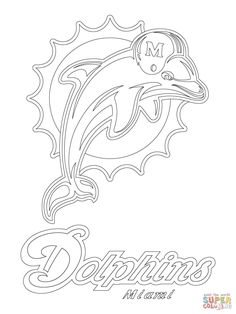 philadelphia eagles logo football sport coloring pages printable and coloring book to print for free. Find more coloring pages online for kids and adults of philadelphia eagles logo football sport coloring pages to print. Football Coloring Pages, Sports Coloring Pages, Cool Coloring Pages, Free Printable Coloring Pages, Coloring Books, Dolphin Silhouette, Dolphin Drawing, Dolphin Coloring Pages, Philadelphia Eagles Logo
