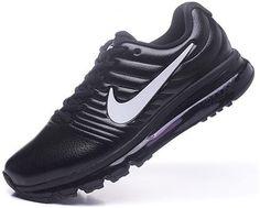 sports shoes e75fa 9f341 Nike Air Max+2017 Mens Basketball Shoes Black and silver 849559-100