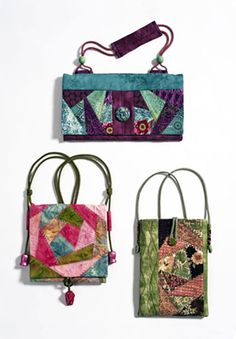 Bag Pattern - Square Rose Designs - Flat Bag