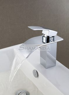 Single Handle Deck Mount Waterfall Bathroom Sink Faucet with Hoses bad Deck Mount Waterfall Bathroom Sink Faucet with Hoses Single Handle Bathroom Faucet, Vessel Sink Bathroom, Widespread Bathroom Faucet, Lavatory Faucet, Bathroom Fixtures, Vanity Sink, Bathroom Tapware, Bamboo Bathroom, Concrete Bathroom
