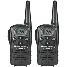 Midland(R) LXT118 18-Mile GMRS Radio Pair Pack R810-MDLLXT118