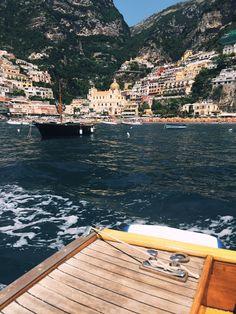 Always, Erin: Arienzo Beach from Positano on Amalfi Coast #travel #wanderlust