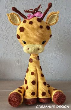 Elfin Thread- Teddy Bear Amigurumi PDF Pattern (Teddy Bear crochet PDF pattern) ElfinThread USD October 16 2015 at Giraffe Crochet, Crochet Animals, Crochet Amigurumi Free Patterns, Crochet Dolls, Giraffe Toy, Stuffed Animal Patterns, Cute Crochet, Amigurumi Doll, Handmade Toys