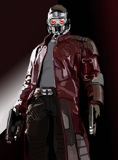 STARLORD - GUARDIAN OF THE GALAXY  by VITO FABRIZIO BRUGNOLA For Commissions: http://vitofabriziobrugnolasarts.blogspot.it/