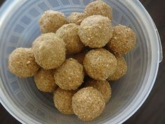 shenga unde or nelagadale unde or peanut laddu Sweet Recipes, Almond, Coconut, Sweets, Indian, Cooking, Healthy, Breakfast, Easy