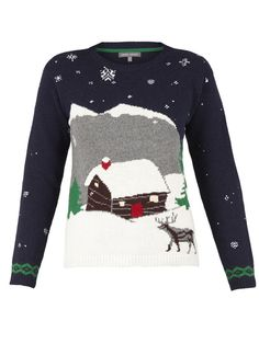 Pull paysage de Noël Laura Ashley, 52.50 €