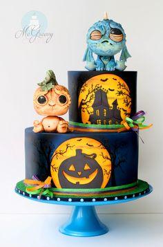 Halloween Cake Inspired by Chris Ryniak