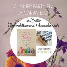 SORTEO 3 de la summer party | La Garbatella: blog de decoración de estilo nórdico, DIY, diseño y cosas bonitas.