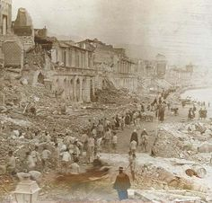 Earthquakes In Italy 1908 | ... buildings in Messina, Italy, after an earthquake and tsunami, 1908