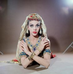 NYCB dancer Gloria Govrin as Coffee from George Balanchine's 'The Nutcracker, 1965. Photo by Martha Swope.