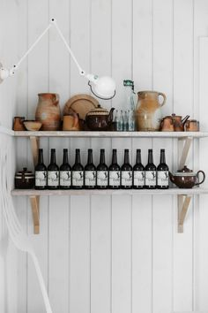 """Mark and Sally Bailey are pioneers of the """"repair, reuse, and rethink"""" philosophy; the couple turned a series of farm buildings in the Hereford countryside in England into Baileys Home and Garden, an ever-evolving destination housewares emporium for those seeking a utilitarian aesthetic."""