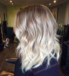 platinum blonde hair ombre - Google-Suche