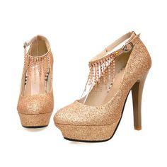 party shoes | ... Wedding Shoes Women High Heel Pump Stiletto Platform Shoes Party Shoes
