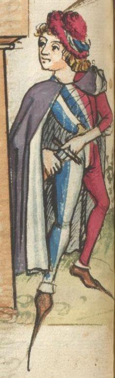 Ms. germ. qu. 12 - Die sieben weisen Meister SchreiberHans <Dirmstein> ErschienenFrankfurt, 1471 Folio 81v