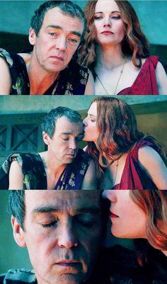 Spartacus: Blood and Sand - Lucretia and Quintus Batiatus