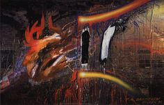 ZDERZENIA – Józef Krzysztof Oraczewski – polski artysta malarz, twórca instalacji