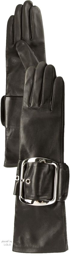 GIVENCHY Chunky Buckle Gloves