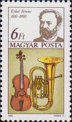 Ференц Эркель (1810-1893). Бас туба и скрипка