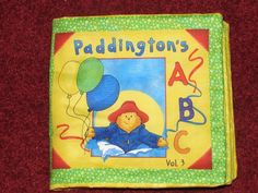 Paddington's A B C. $14.00, via Etsy.