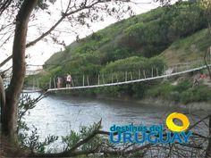 El puente colgante de La Coronilla