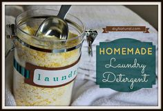 Homemade Laundry Detergent - The Original and Best Recipe – Making your own homemade laundry detergent [soap] is easy, inexpensive, and effective in both regular and HE washers. Save money and avoid chemicals.