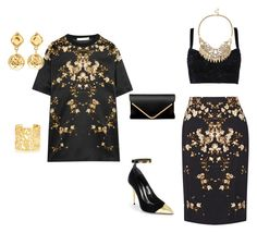 """Untitled #240"" by sikarjazmin on Polyvore featuring Givenchy, Balmain, Dolce&Gabbana, Sole Society, Chanel and Kate Spade"