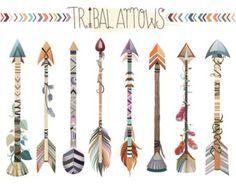 Woodland Tribal animaux Clipart Vol. 2 par KennaSatoDesigns