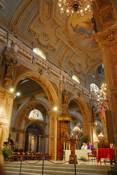 Cathedral of Santiago. Chile