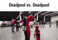 Funny pictures about Deadpool Vs Deadpool Junior. Oh, and cool pics about Deadpool Vs Deadpool Junior. Also, Deadpool Vs Deadpool Junior photos. Memes Marvel, Dc Memes, Marvel Funny, Funny Memes, Jokes, Funny Gifs, Bd Comics, Marvel Dc Comics, Marvel Avengers