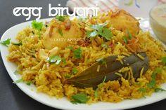 Tasty Appetite: Egg Biryani / How to cook Spicy Egg Biryani / Egg ...
