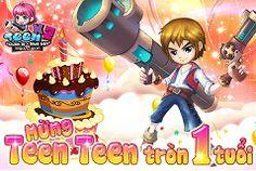 Teen teen mở sự kiện mừng sinh nhật tròn 1 tuổi: http://gameiphone.com.vn/teen-teen-khuyen-mai-50.html