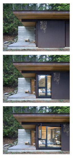 Gulf Islands Cabin by Olson Kundig Architects