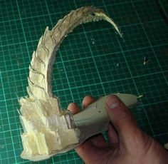 Tyranid terrain tutorial, hot glue gun  These warhammer modelers are pretty badass.