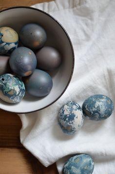 DIY | Barvení vajíček v červeném zelí | Jane at home