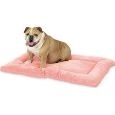 pet dreams sleep-ezz plush crate pad in cocoa