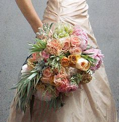 Cascading Bouquet Wedding