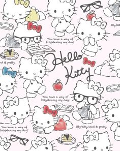 Image uploaded by GLen =^● 。●^=. Find images and videos about wallpaper, hello kitty and sanrio on We Heart It - the app to get lost in what you love. Hello Kitty Art, Hello Kitty Pictures, Hello Kitty Items, Sanrio Hello Kitty, Hello Hello, Hello Kitty Backgrounds, Hello Kitty Wallpaper, Cute Wallpaper Backgrounds, Cute Wallpapers