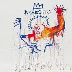 Jean-Michel Basquiat - Asbestos